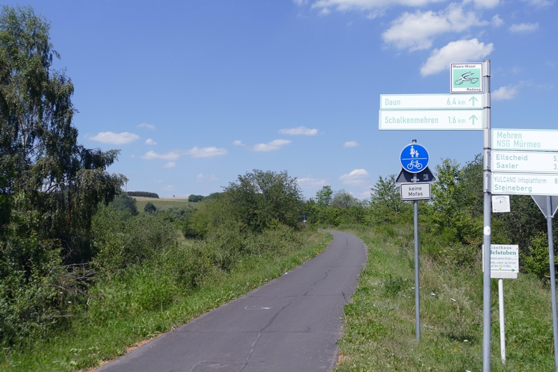 mountainbiken und Radtouren in Schalkenmehren und Umgebung